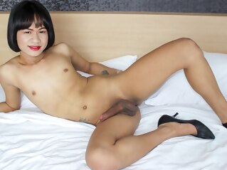 Aui Strips And Strokes For You - Ladyboy-Ladyboy shemale asian shemale ladyboy shemale masturbation
