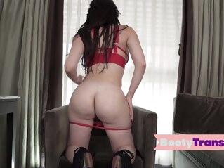 Big booty latina tgirl sucks dick before riding shemale big ass shemale big tits shemale blowjob